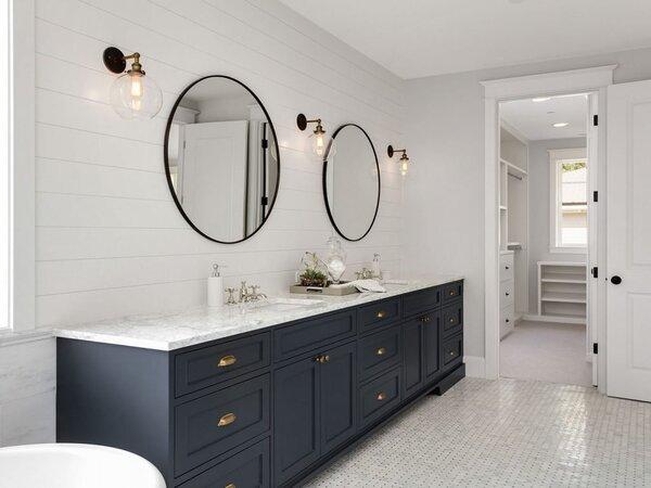Large master bathroom remodel